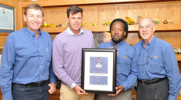 Power Group certificate handover