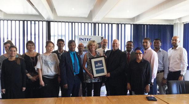 INTEC College Certificate Handover