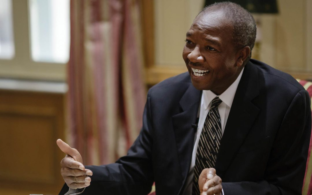 We interview Norman Mbazima, deputy chairman of Anglo American