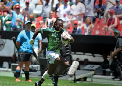 The world at his feet: An interview with Seabelo Senate